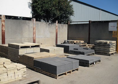 Concrete Paving Range