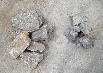 Hillview Granite Grey L-R Beaching, Rubble