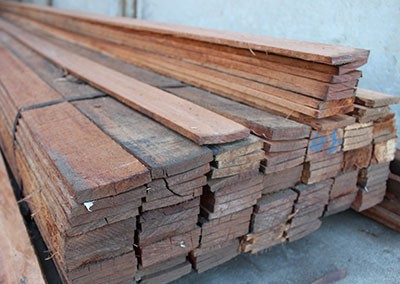 Jarrah Edging - Assorted Lengths