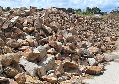 Granite Hillview - Brown Walling Stone