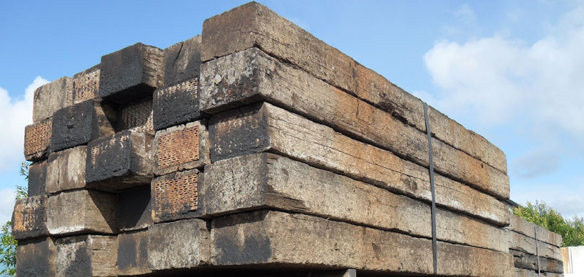 Railway Sleepers | Rock n Redgum | Garden Supplies Mornington