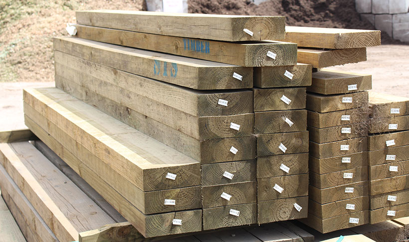 Treated Pine Sleepers & ACQ | Rock n Redgum | Garden Supplies