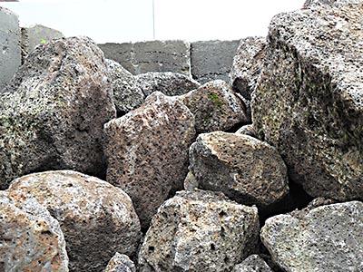 Volcanic Honeycomb Rocks Rock N Redgum Garden