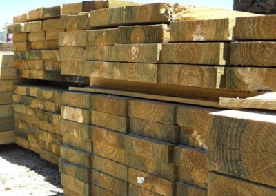 Treated Pine Sleepers & ACQ